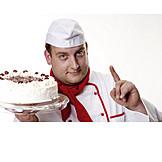 Clue, Cake, Confectioner