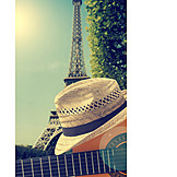 Music, Guitar, Paris, Street Busker
