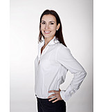 Geschäftsfrau, Bewerbungsfoto