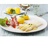 German cuisine, Lunch, Asparagus