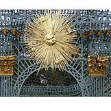 Sun, Gilded, Sanssouci, Pavilion