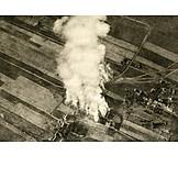 Luftaufnahme, Erster Weltkrieg, Stellungskrieg