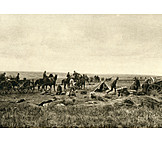 Munitions Wagon, Fire, Eastern Front, Tarnopol