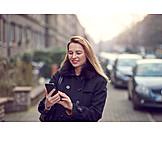 Business Woman, Mobile Communication, Smart Phone