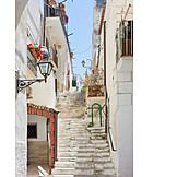 Staircase, Apulia, Vieste