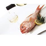 Prepared Fish, White Wine, Orange Roughy