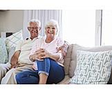 Ehepaar, Seniorenpaar