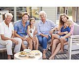 Sommer, Familie, Familienporträt