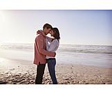 Embracing, Love, Love Couple, Beach Holiday