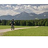 Mountain Bike, Bicycle Tour, Active Senior