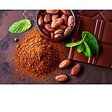 Chocolate, Cocoa powder, Cocoa bean