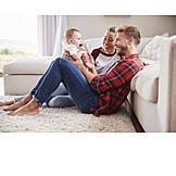 Baby, Parent, Home, Bonding