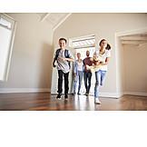 Familie, Eigenheim, Ankommen, Neues Zuhause