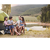 Family, Outdoor, Camping, Nature
