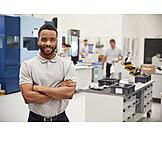 Lehrling, Ingenieur, Arbeiter, Facharbeiter