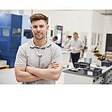 Apprentice, Engineer, Worker, Skilled