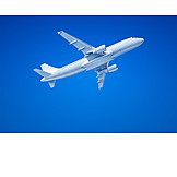 Airplane, Flying, Aviation, Commercial Airplane