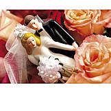 Hochzeit, Partnerschaft, Brautpaar