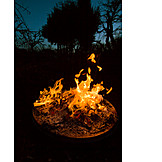 Flame, Fire, Fire Bowl