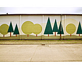 Forest, Mural