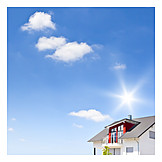 Wohnhaus, Immobilie, Neubau, Einfamilienhaus