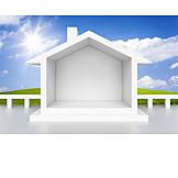 Wohnhaus, Immobilie, Eigenheim, Einfamilienhaus