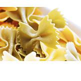 Pasta, Farfalle, Nudeln