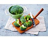 Preparation, Broccoli, Broccoli Florets