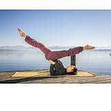 Yoga, Gymnastik, Yogaübung
