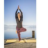 Balance, Yoga, Gleichgewicht
