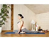 Yoga, Dehnübung, Yogaübung, Hüftöffner