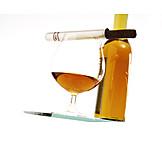 Cognac, Cigar, Beverage