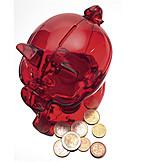 Change, Piggy Bank, Savings