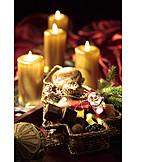 Weihnachten, Süßigkeiten, Weihnachtsteller, Adventszeit