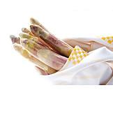 Asparagus, Asparagus Tips, Purple Asparagus