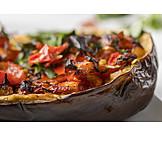 Türkische Küche, Gefüllte Aubergine