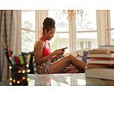 Häusliches Leben, Mobile Kommunikation, Smartphone