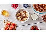 Preparation, Breakfast, Cereal