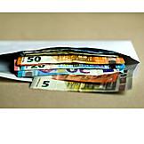 Euroschein, Papiergeld, Bargeld
