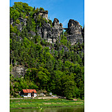 Domestic Life, Elbe Sandstone Mountains, Bastion