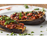 Turkish cuisine, Stuffed eggplant, Karniyarik
