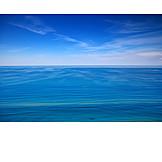 Sea, Ocean, Water Surface