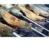 Broiling, Prepared Fish, Mackerel