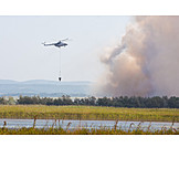 Helicopter, Firefighting, Quench Fire