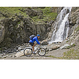 Active Seniors, Mountain Biking, Gran Paradiso
