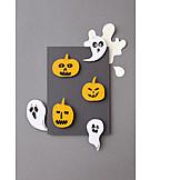 Handicrafts, Halloween, Invitation Card