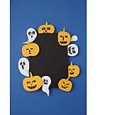 Basteln, Halloween, Einladungskarte