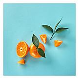 Orange, Flesh, Juicy