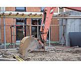 Building Construction, Construction Site, Digging