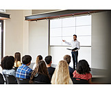 Lehrer, Vortrag, Präsentation